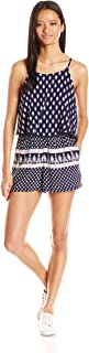 Angie Women's Printed Romper