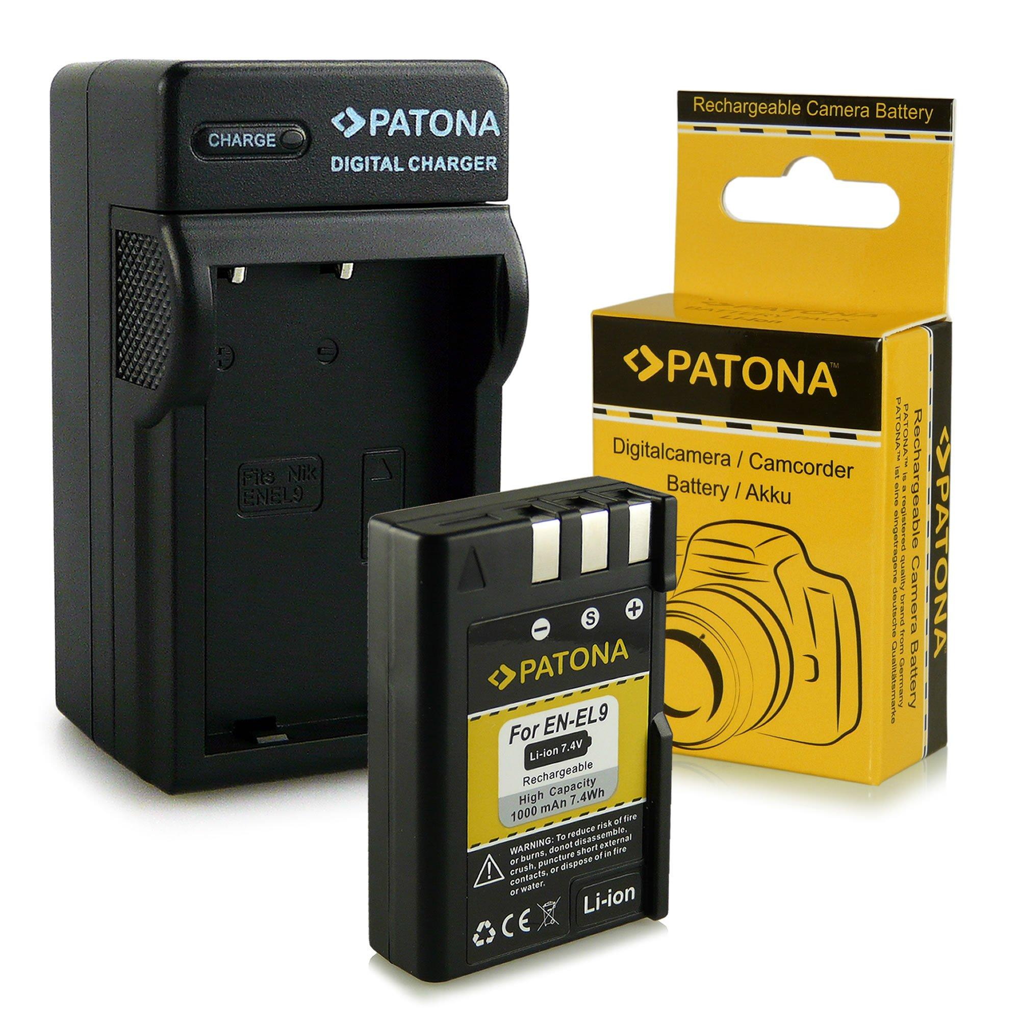 Cargador + Batería EN-EL9 / EN-EL9a para Nikon D40 | D40x | D60 ...