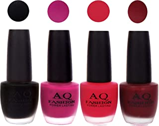AQ Fashion Velvet Matte Nail polish Combo set 824