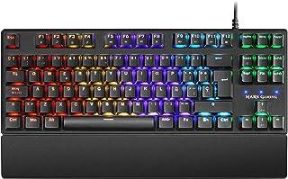 Mars Gaming MKXTKL, teclado mecánico switch rojo, LED 5 colores 10 efectos, ES