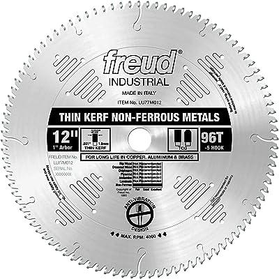 Freud LU77M012 Thin Kerf Non-Ferrous Metal Blade