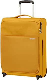American Tourister Lite Ray Bagage- Bagage de Cabine, Upright S (55 cm - 43 L), Golden Yellow