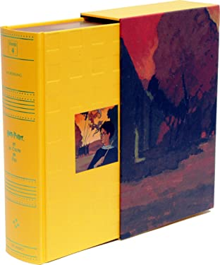 Harry Potter et la Coupe de Feu (French edition of Harry Potter and the Goblet of Fire (deluxe hardbound edition in a slipcase)