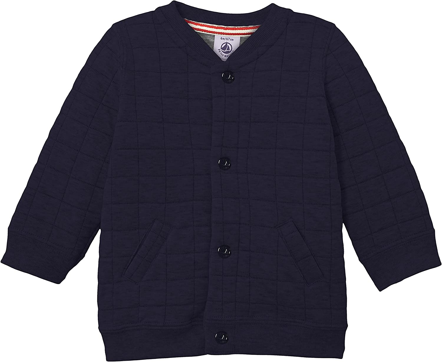 Petit Bateau Baby Boys' Boys' Quilted Light Jacket and Pant Set