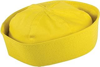 yellow sailor hat