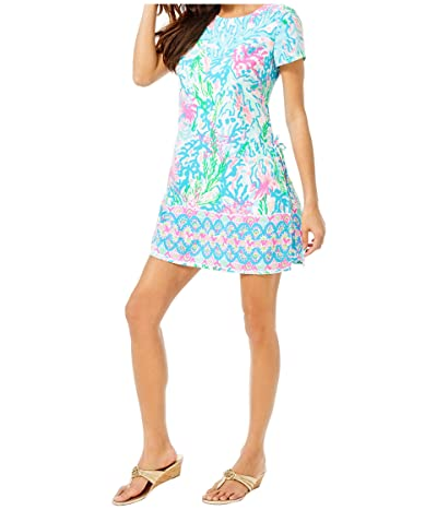 Lilly Pulitzer Blanca Stretch Romper (Multi Coral Bay Engineered) Women