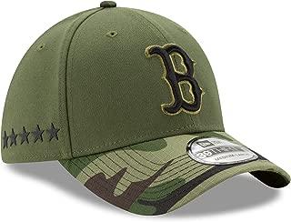 New Era Boston Red Sox 2017 Memorial Day 39THIRTY Flex Hat - Green/Camo