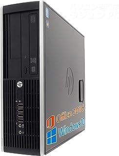 【Microsoft Office 2019搭載】【Win 10搭載】HP 6200 Pro/次世代Core i5 3.1GHz/大容量メモリー:4GB/HDD:160GB/DVDドライブ/2画面同時出力可能/無線機能搭載/新品キーボードマウス/ほぼ新品中古デスクトップパソコン (HDD:160GB)