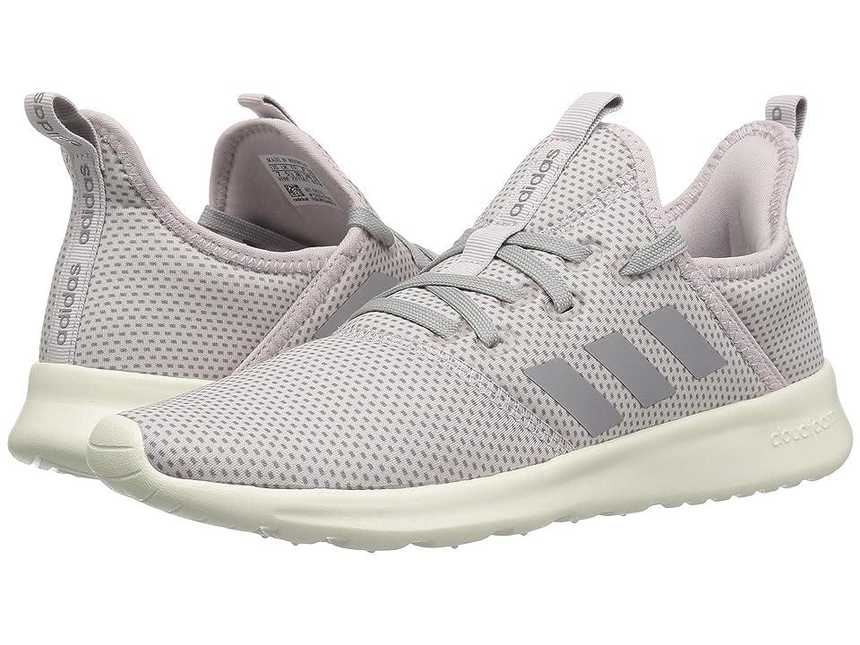 adidas Cloudfoam Pure (Ice Purple/Grey Three/Footwear White/Winter Neoprene) Women's Shoes, Gray