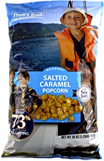 Salted Caramel Popcorn with Sea Salt - Support Scouting