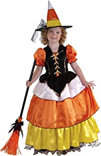 Forum Novelties Child's Little Designer Collection Candy Corn Witch Costume, Small