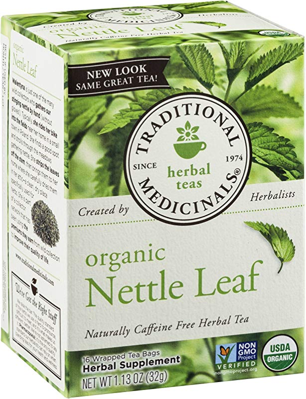 Traditional Medicinals Tea Org Nettle Leaf 16 Count Boxes Pack Of 3