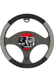 Carpoint Funda Cubre Volante Gamuza Negro