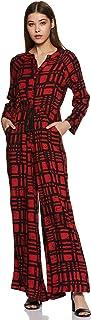 global desi Rayon Flat Front Jumpsuit