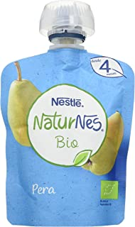 comprar comparacion Nestlé Naturnes Bio Bolsita Puré Pera, A Partir De Los 4 Meses.Pack de 16 bolsitas 90g