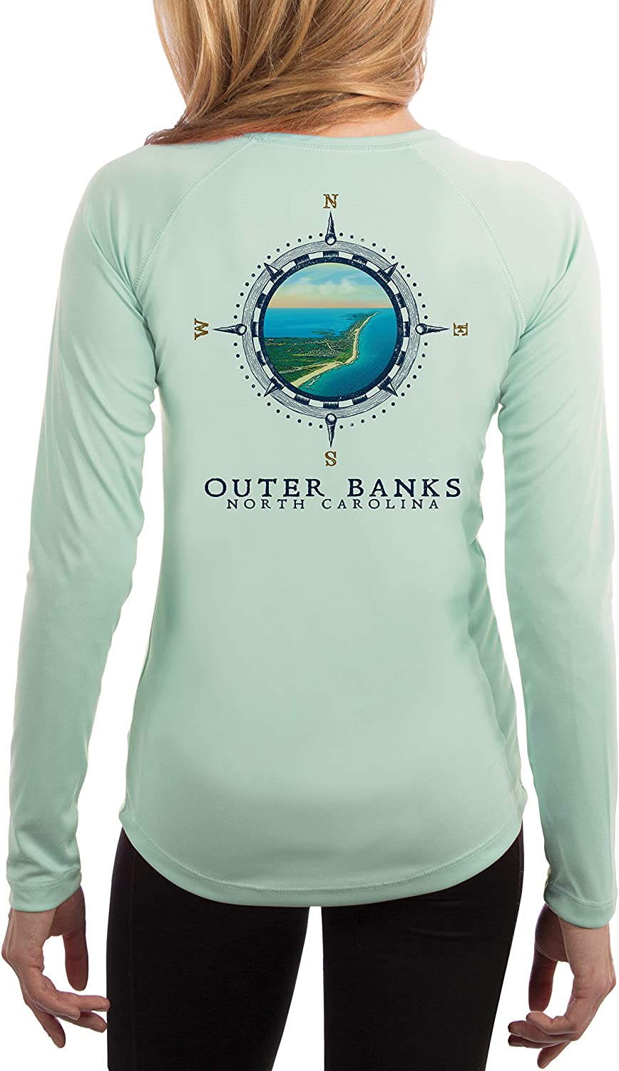Compass Vintage Max 66% OFF Outer Banks Women's Protection 50+ Ranking TOP3 Sun UPF Long