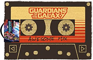 empireposter Guardians of The Galaxy - Vol. 2 - Awesome Mix - voetmat deurmat grootte: 60 x 40 cm, materiaal kokosvezel
