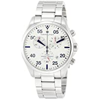 Hamilton Men's 44mm Khaki Aviation Swiss Made Quartz Chronograph Stainless Steel Bracelet Watch