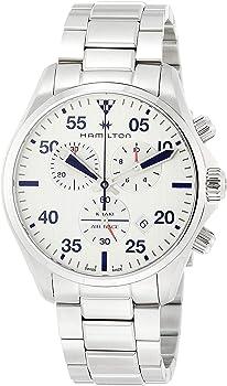 Hamilton 44mm Khaki Chronograph Men's Bracelet Watch
