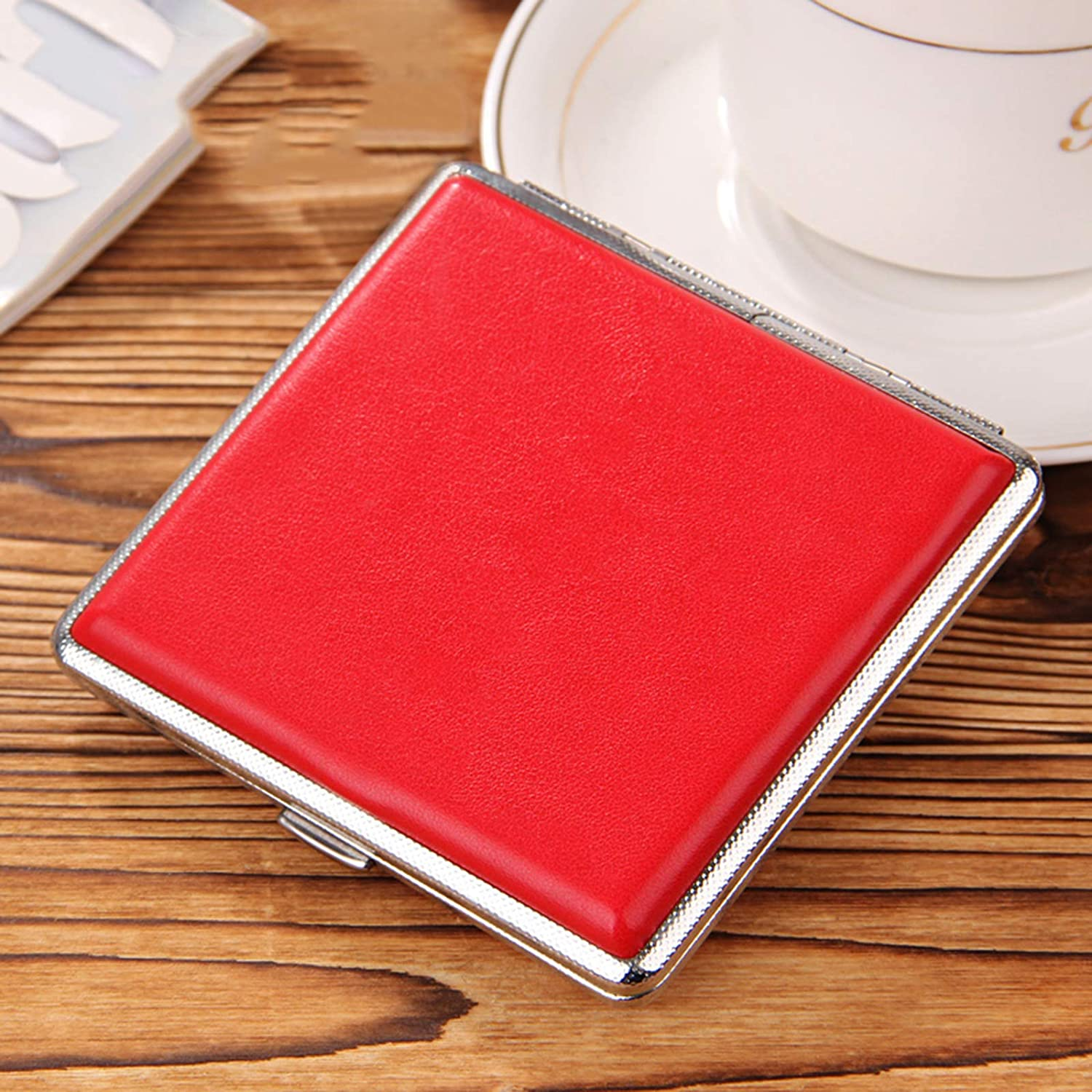 HEKQ Leather Cigarette Case Best Gift Women A for Online limited Year-end annual account product Anti-Pressure