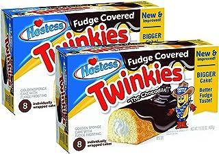 Hostess Chocodile Twinkies (Fudge Covered) 2 Boxes