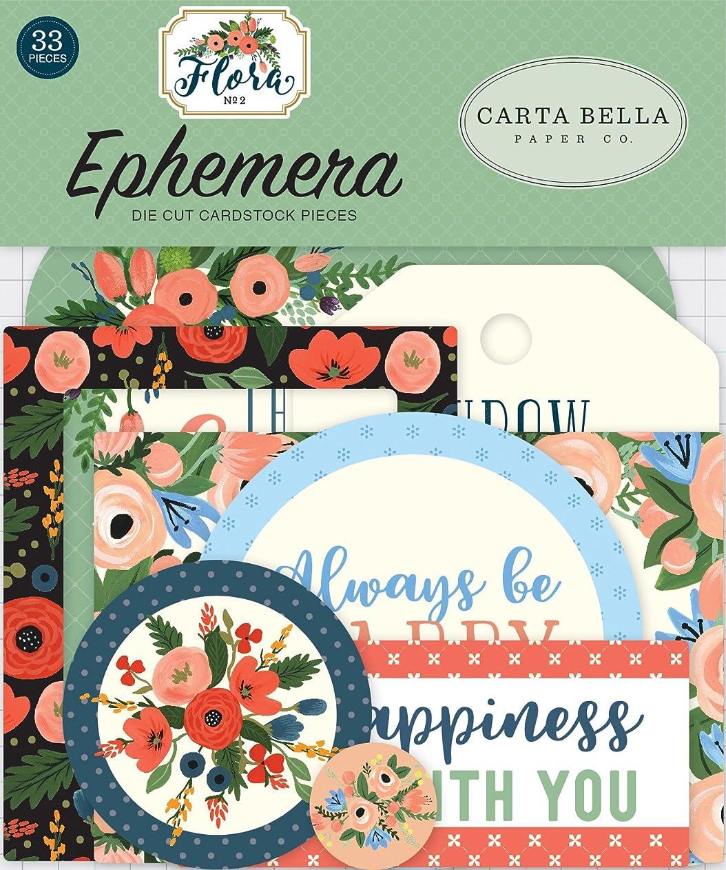 Carta Bella Paper Company Flora no.2 Ephemera lzoadblwmve22950