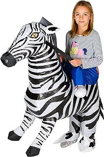 Inflatable Zebra Fancy Dress Costume