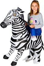 Bodysocks Inflatable Zebra Fancy Dress Costume