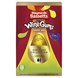 Maynards Bassetts Wine Gums Easter Egg, 162 g
