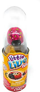 Little Live Pets - LIL LADYBUG and BABY Single Pack - Rare Pink LIL' SPRINKLES