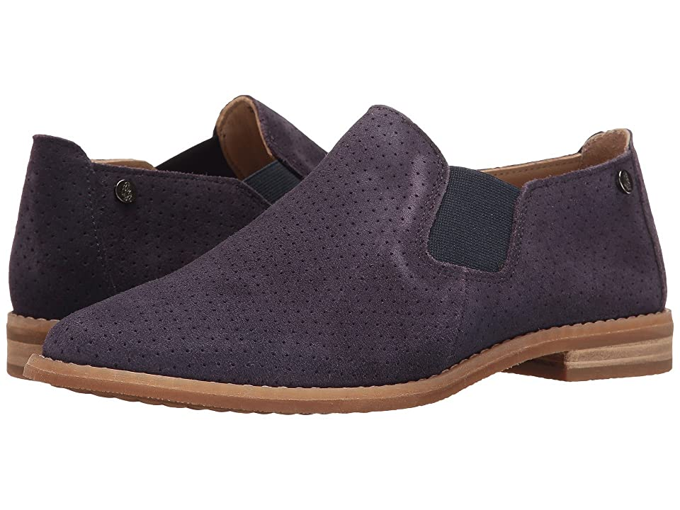 Hush Puppies Analise Clever (Royal Navy Suede Perf) Women
