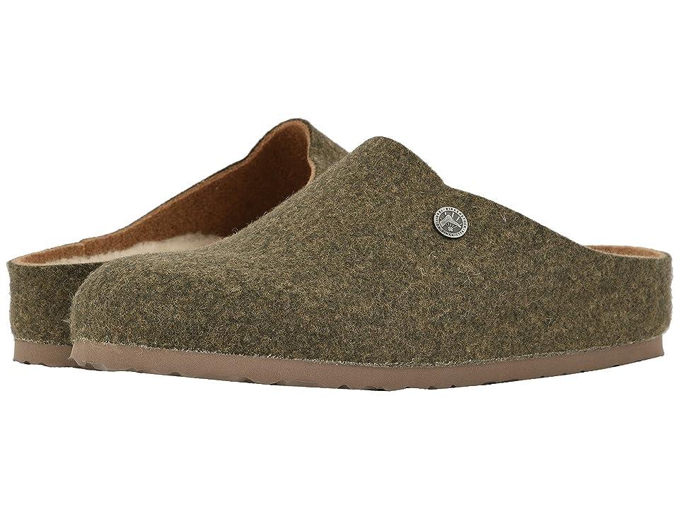 Birkenstock Kaprun Wool (Doubleface Khaki Wool/Happy Lamb) Clog Shoes