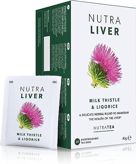 NUTRALIVER - Liver Support Tea | Liver Detox Tea