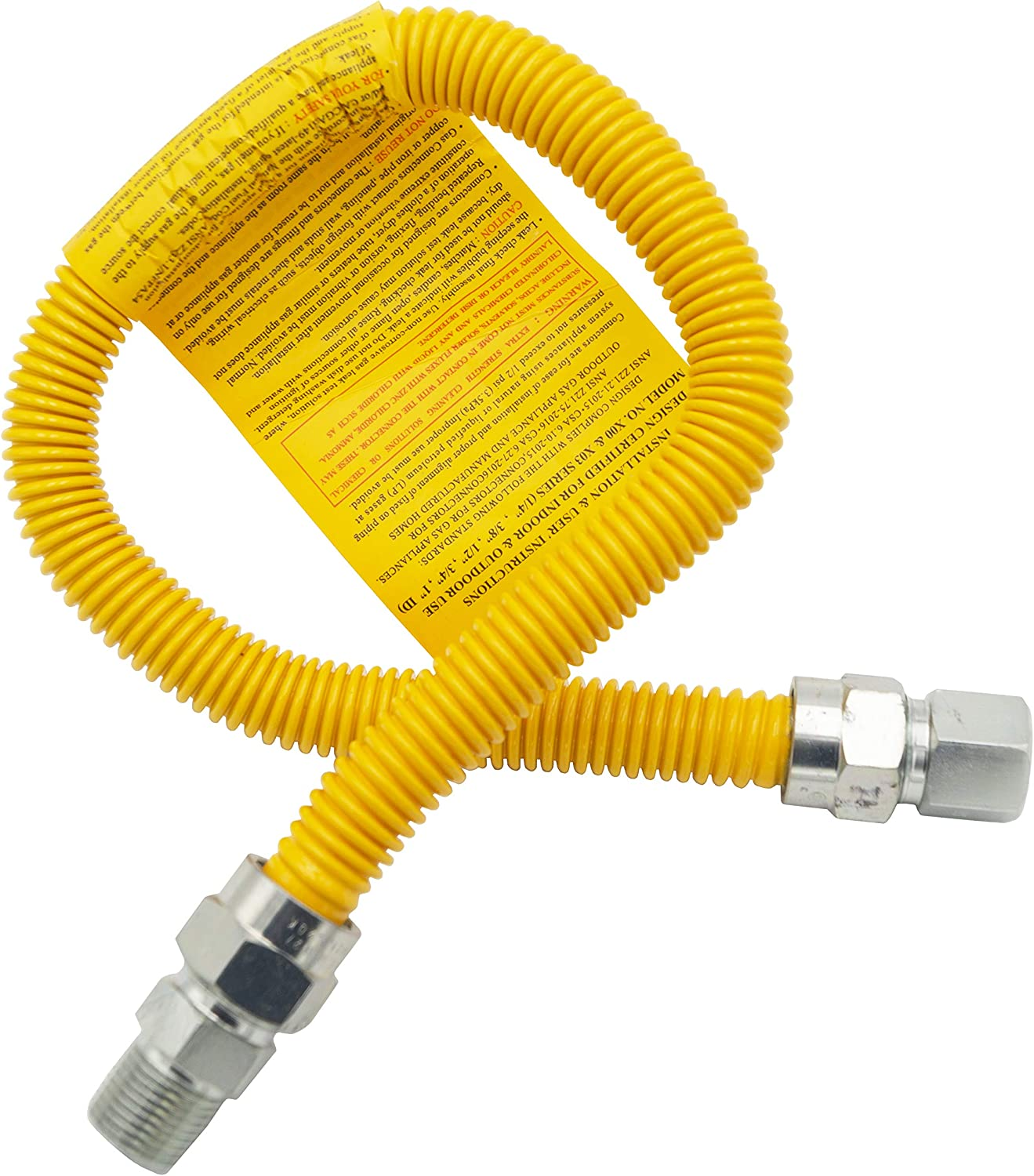 Supplying Demand 303-3132-24 Range Oven Spring new work Gas 2021 autumn and winter new Hose 2 OD 5 8 ID 1