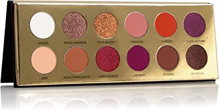 Coloured Raine   Queen of Hearts- 12 Pan Eyeshadow Palette - Day to Night Looks   Cruelty Free