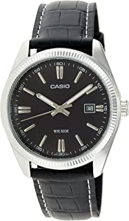 Casio Casual Watch For Men Analog Leather - MTP-1302L-1AVEF