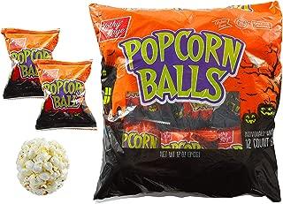 Kathy Kaye Halloween Popcorn Balls, 1 oz, 12 ct