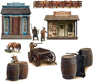 Wild West Shootout Props Party Accessory (1 count) (9/Pkg)