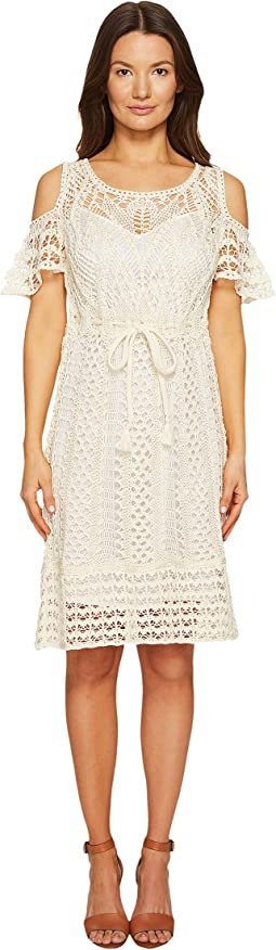 Crochet Drawstring Dress