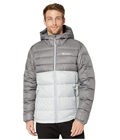 Columbia Buck Buttetm Insulated Hooded Jacket (Columbia Grey/City Grey) Men