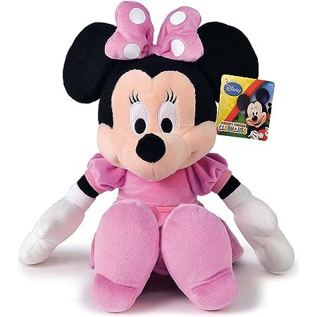 Disney- Peluche, Color Negro, 25 CM. (MPDP1601687)