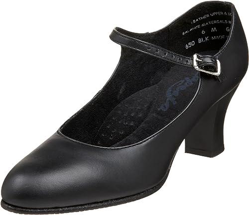 Capezio Wohommes Student Footlumière Character chaussures,noir,8 W US