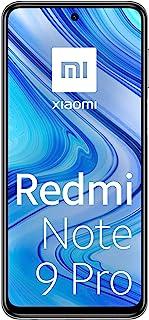 """Xiaomi Redmi Note 9 Pro - Smartphone con pantalla FHD+ 6.67"""" DotDisplay (6 GB+128 GB, cámara cuádruple 64 MP con IA, SnapdragonTM 720G, batería 5020 mAh) Blanco [Version Española]"""