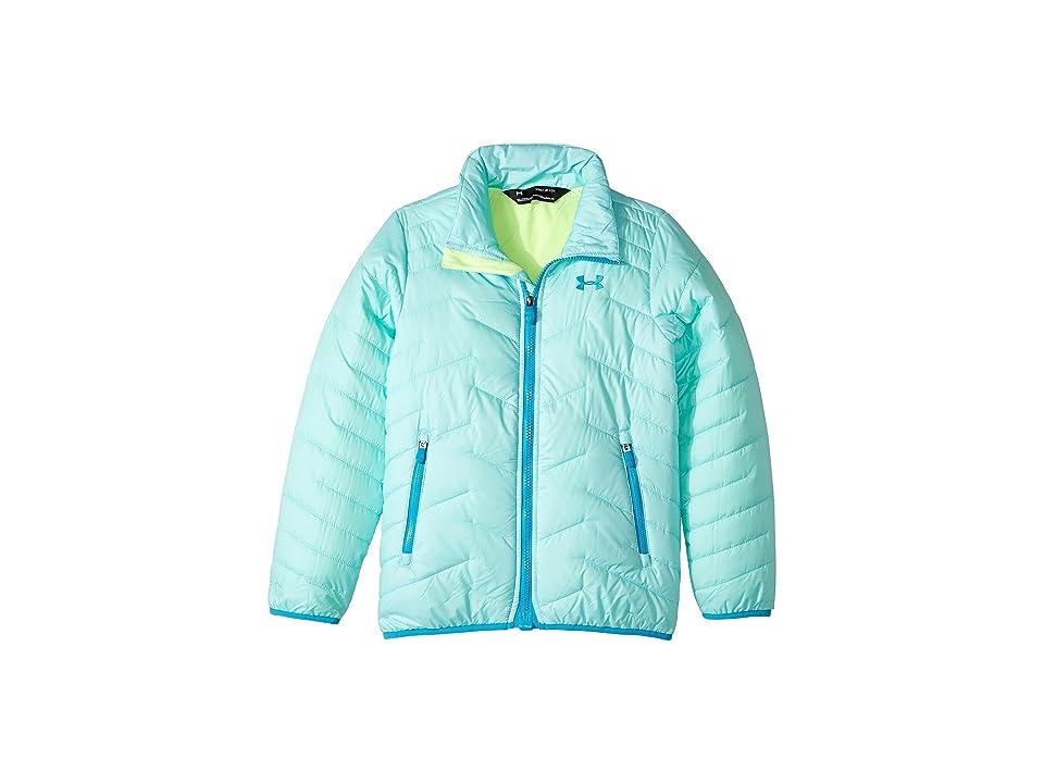 Under Armour Kids UA ColdGear Jacket (Big Kids) (Blue Infinity/Quirky Lime/Blue Shift) Girl
