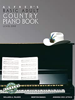 Alfred's Basic Adult Piano Course Country Songbook, Bk 1