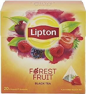 Lipton - Té con aroma de frutas del bosque, 20 x 1.7 gr