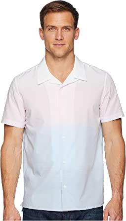 Short Sleeve Ombre Camp Shirt