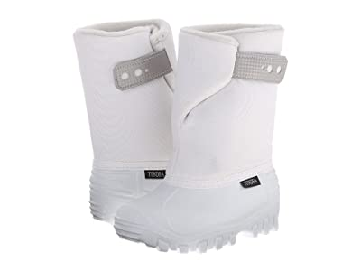 Tundra Boots Kids Teddy 4 (Toddler/Little Kid) (White/White) Girls Shoes