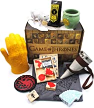 Culturefly Game of Thrones Limited Edition Collectors Box - Noble Houses - Bundle Deal - 9 Items with T-Shirt Included