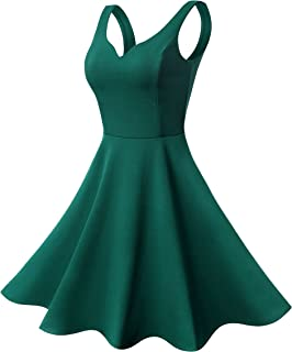 Best skater dress green Reviews